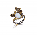 Designers Favorites Ring m. synt. opal